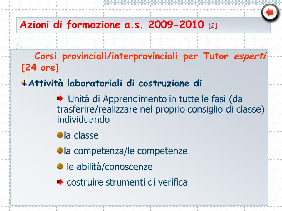 Azioni di formazione a.s. 2009-2010 [2]